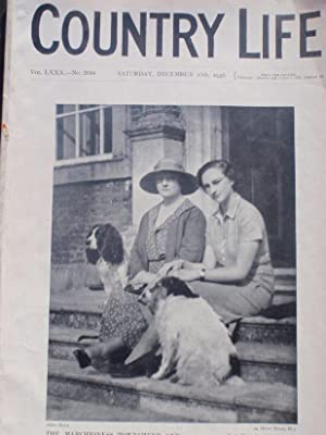 Original Issue of Country Life Magazine Dated December 26th 1936 with a Main Feature on Castlecoo...