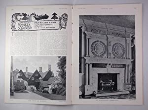 Original Issue of Country Life Magazine Dated September 22nd 1906, with a Main Feature on Prinkna...