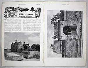 Original Issue of Country Life Magazine Dated November 25th 1905, with a Main Feature on Some Glo...