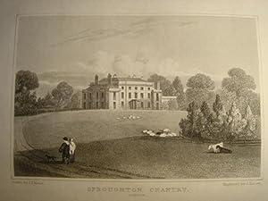 Original Single Engraving from Views of the: A Fine Original