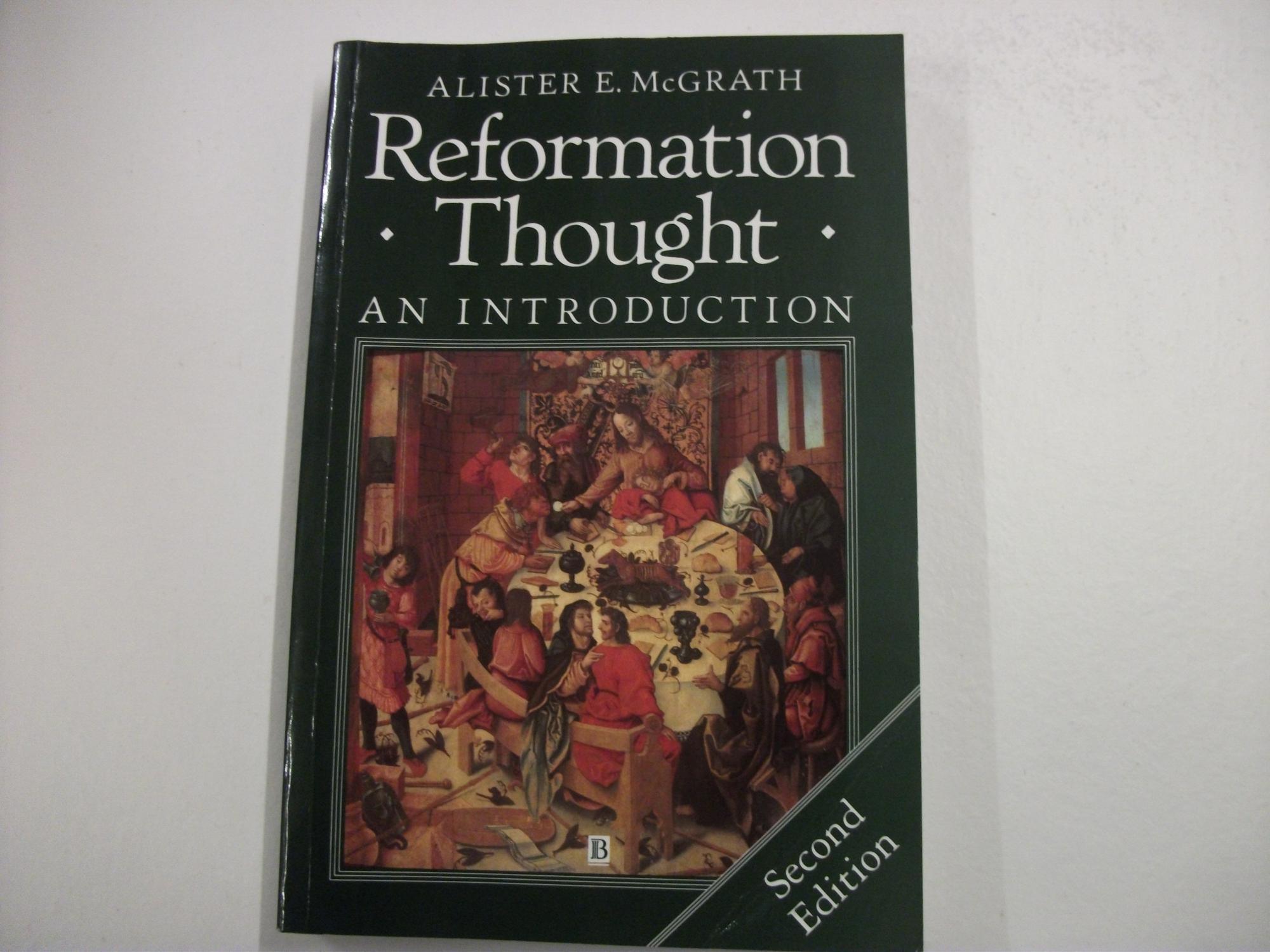 Image result for reformation thought mcgrath