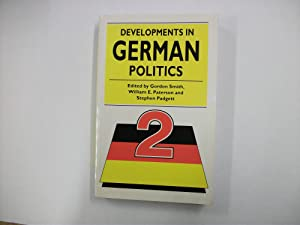 DEVELOPMENTS IN GERMAN POLITICS [2].