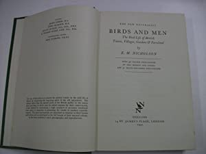 THE NEW NATURALIST - BIRDS AND MEN : The Bird Life of British Towns, Villages, Gardens & Farmland