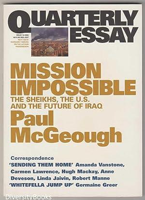 the future of the iraqi government essay