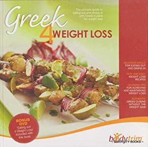 GREEK 4 WEIGHT LOSS (Includes DVD: Eating Out 4 Weight Loss, by Geoff Jowett)