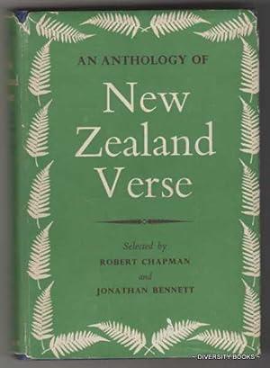 AN ANTHOLOGY OF NEW ZEALAND VERSE: Chapman, Robert and