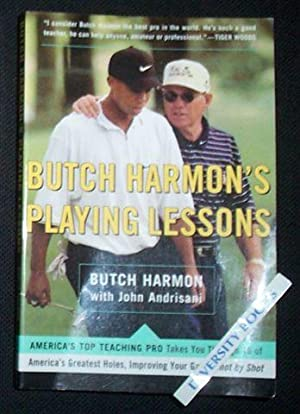 BUTCH HARMON'S PLAYING LESSONS: Claude 'Butch' Harmon,