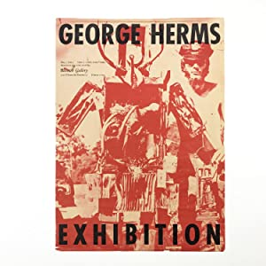 Poster for George Herms' 1961 Exhibition at Batman Gallery
