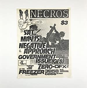 Flyer for a 1982 Show at the Freezer