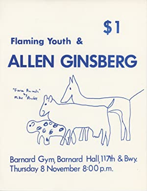 Poster for a Performance at the Barnard Gym