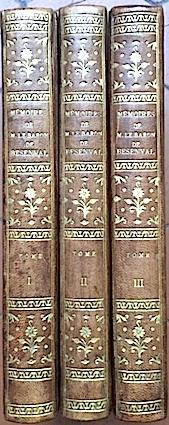 MEMOIRES écrits par lui-même, imprimés sur son: BESENVAL (Baron de);