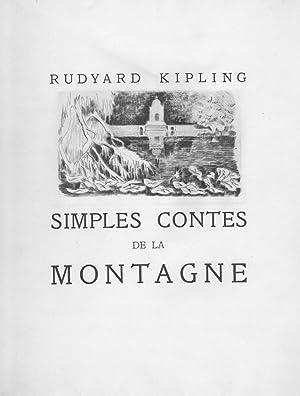 Simples contes de la montagne: KIPLING Rudyard illustré