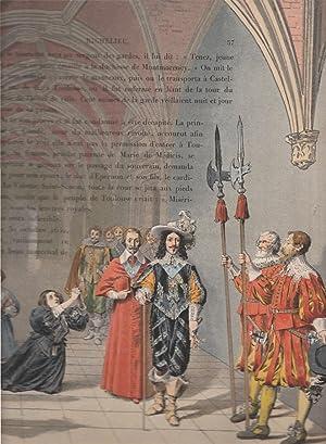Richelieu illustré par Maurice LELOIR.: CAHU Théodore