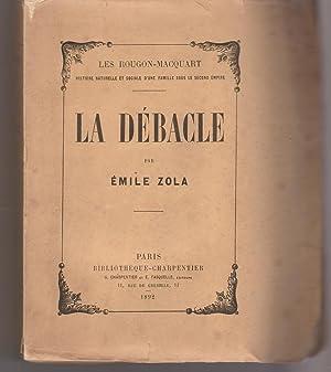 La débâcle: ZOLA Emile