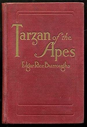 Tarzan of the Apes.: BURROUGHS, Edgar Rice.