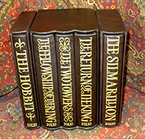 Folio Deluxe Limited Editions of The Lord of the Rings, The Hobbit, and The Silmarillion