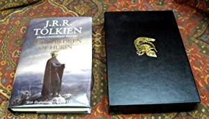 The Children of Hurin - 1st US Edition Signed By Christopher Tolkien & Alan Lee on Publishers Boo...