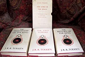 The Lord of the Rings, 1st UK Edition, with Publishers Slipcase