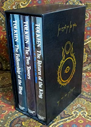 The Lord of the Rings, 2nd UK Edition in Custom Black Leather Slipcase