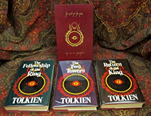 The Lord of the Rings, 2nd UK Edition in Custom Leather Slipcase