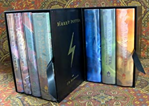 Harry Potter - Full 7 Volume Set 1st US Edition, 2 Copies Signed By Author