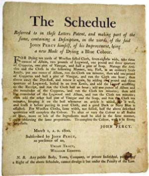 THE SCHEDULE REFERRED TO IN THESE LETTERS PATENT, AND MAKING PART OF THE SAME, CONTAINING A DESCR...