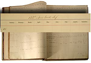 NEW YORK VOLUNTEER OFFICERS' PAYMASTER RECORD BOOK