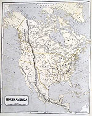 MORSE'S NORTH AMERICAN ATLAS. CONTAINING THE FOLLOWING BEAUTIFULLY COLORED MAPS:.