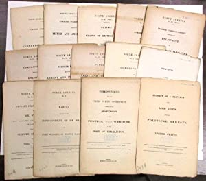 FOURTEEN PARLIAMENTARY REPORTS CONCERNING BRITISH-AMERICAN DIPLOMATIC RELATIONS DURING THE CIVIL WAR