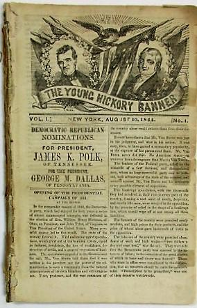 THE YOUNG HICKORY BANNER. VOL. I. NOS. 1-4