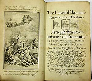 A CONTEMPORARY PRINTING OF THE DECLARATION OF INDEPENDENCE IN THE UNIVERSAL MAGAZINE OF KNOWLEDGE...