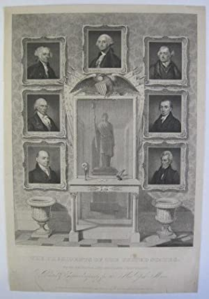 THE PRESIDENTS OF THE UNITED STATES. FROM ORIGINAL AND ACCURATE PORTRAITS, PAINTED & ENGRAVED FOR...