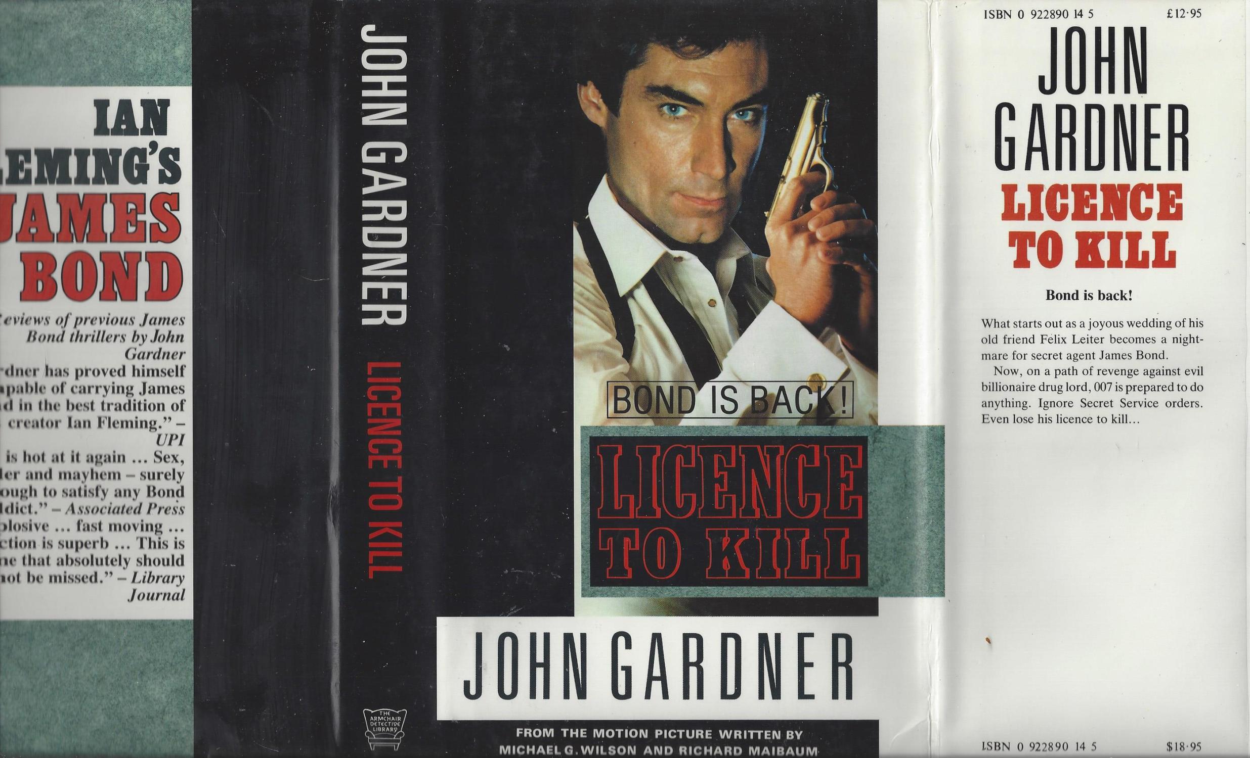 Licence To Kill John Gardner