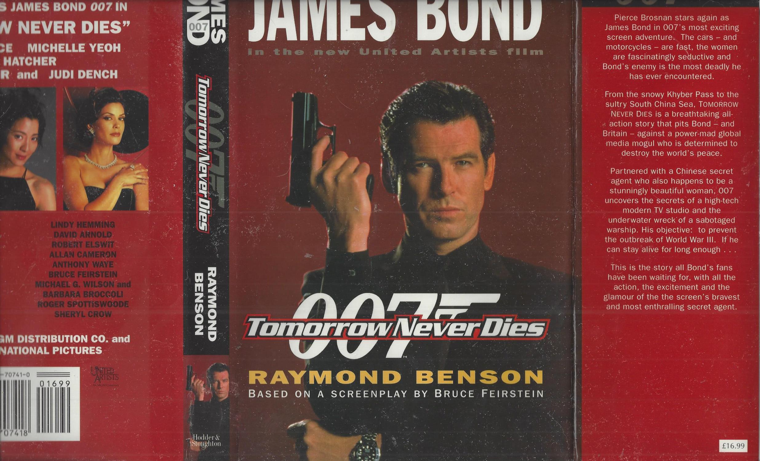 Tomorrow Never Dies Raymond Benson