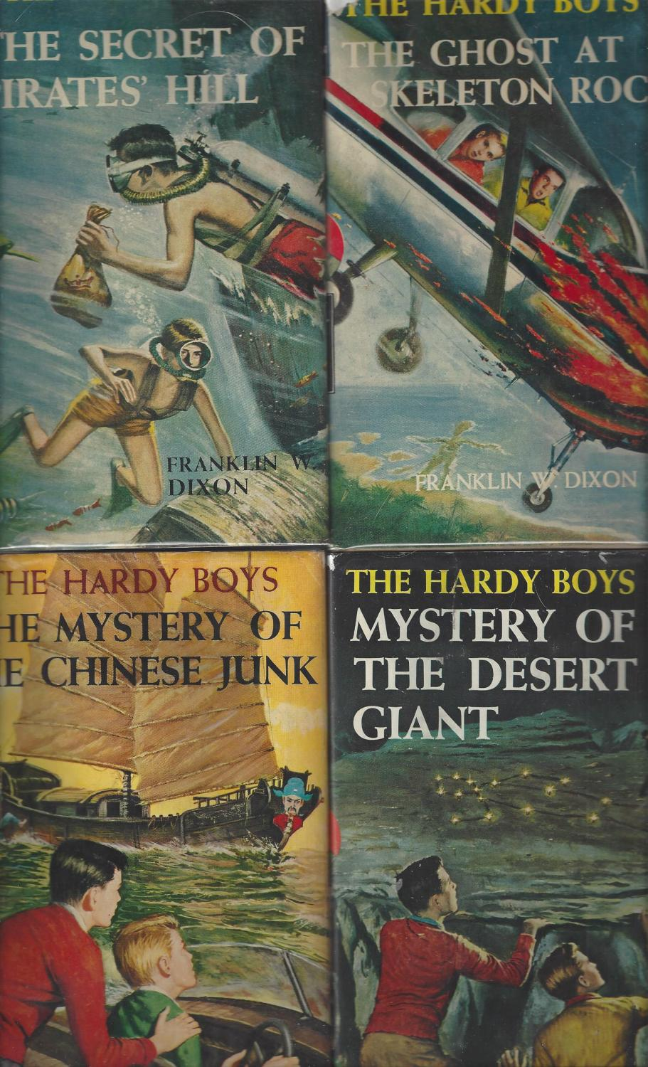 hardy boys 15 the sinister signpost dixon franklin w