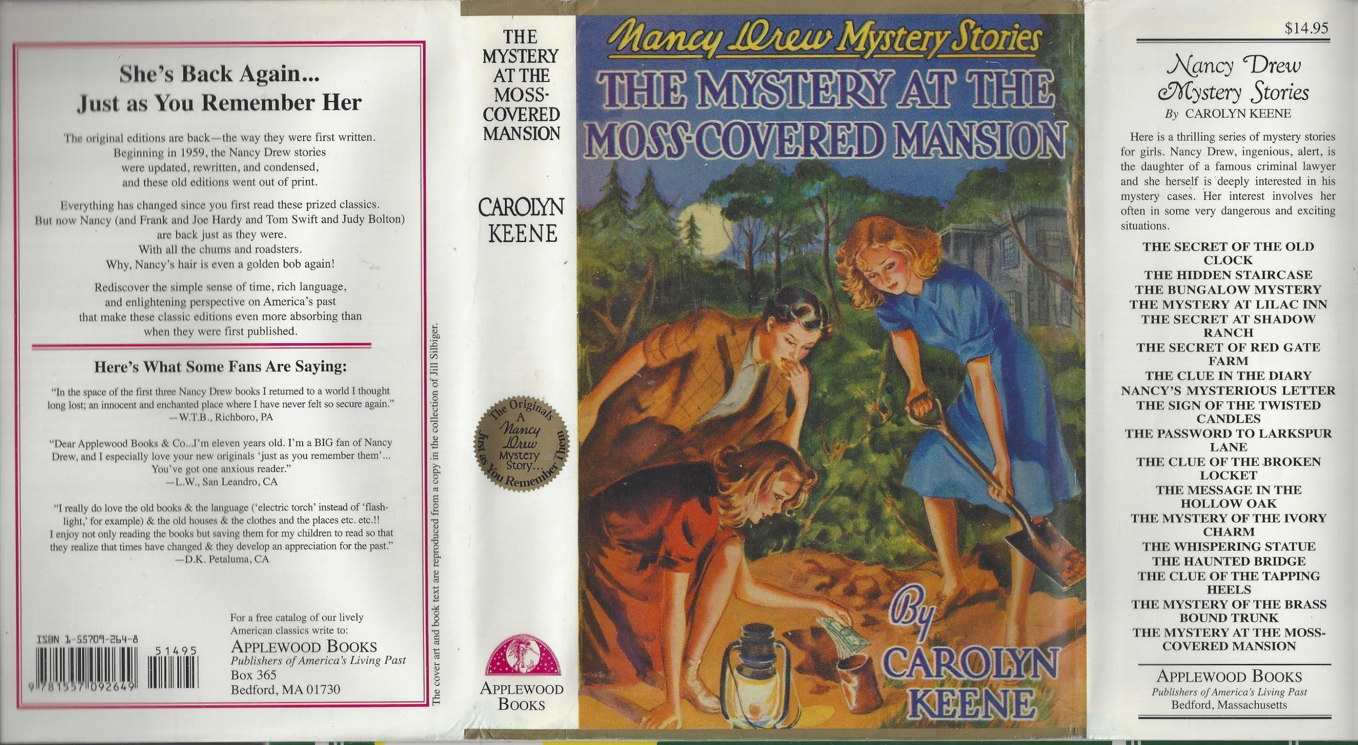Nancy Drew #18 The Mystery At The