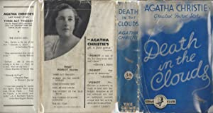 Death In The Clouds - UK 1st with 3/6 ORIGINAL DUST JACKET: Agatha Christie