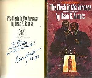 The Flesh In The Furnace - Signed: Dean Koontz