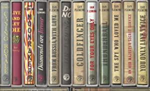 COMPLETE SET ALL 14 IAN FLEMING/JAMES BOND: Ian Fleming
