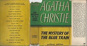The Mystery Of The Blue Train WITH ORIGINAL DUST JACKET