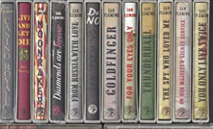 SEALED COMPLETE SET OF ALL 14 IAN: Ian Fleming