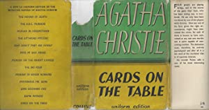 Cards On The Table - with Original Dust Jacket