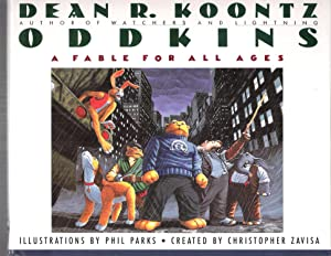 Oddkins: Dean Koontz / Phil Parks - Signed w/Original Art - Limited Edition #/10