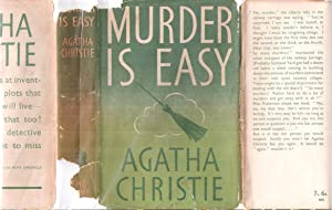 Murder is Easy - with Original CORRECT FIRST STATE Dust Jacket NOT PRICE CLIPPED