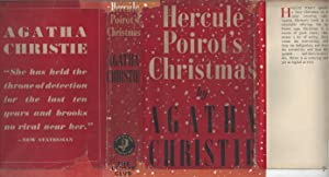 Hercule Poirot's Christmas w/Original First State Dust Jacket