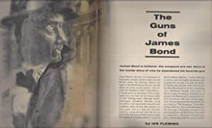"""The Guns of James Bond"""" in Sports Illustrated mag. 3/19/62: Ian Fleming (contributor..."""