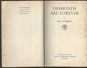 Diamonds Are Forever - Rare UK 1st w/Original Dust Jacket: Ian Fleming