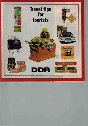 Travel tips for tourists. DDR.