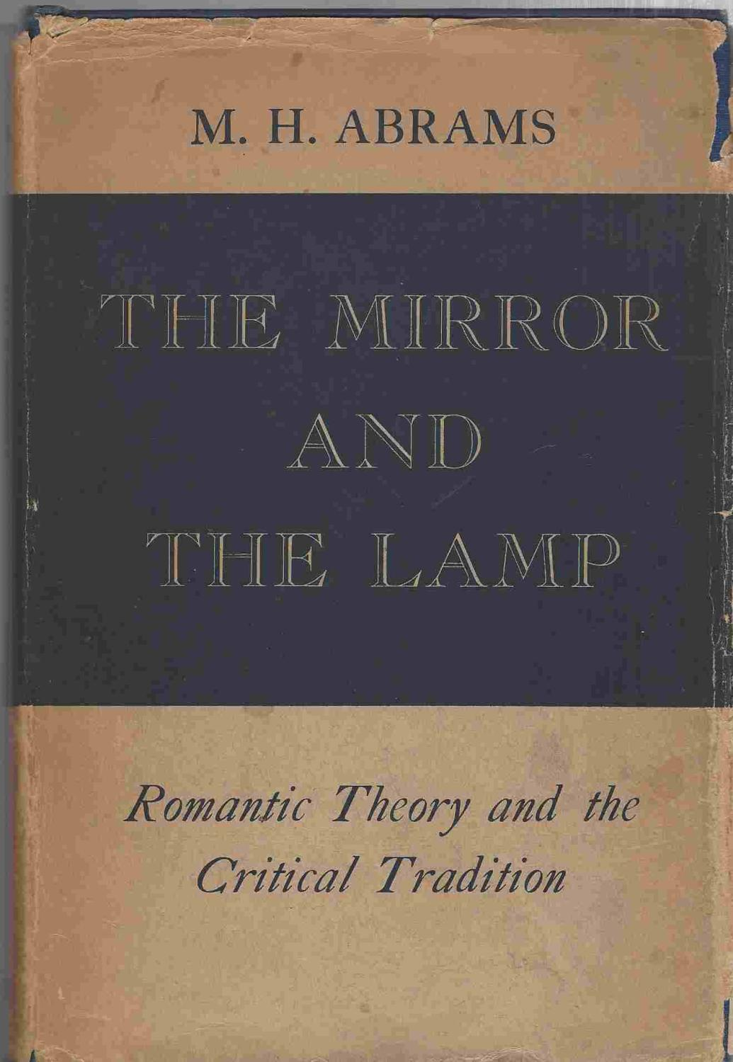 Romantic Mirror the the and Critical and Lamp The Theory oxrdCeQBW