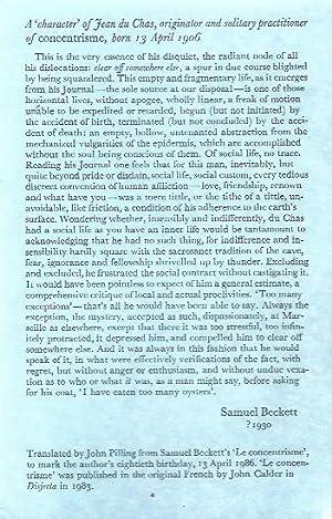 samuel beckett - Signed - AbeBooks
